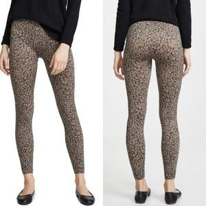 Spanx Look at Me Now Leopard Leggings Size Large
